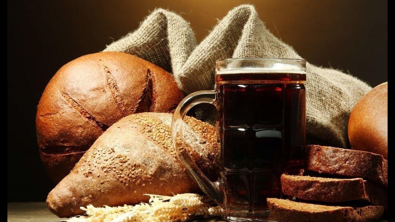 Как приготовить хлебный квас
