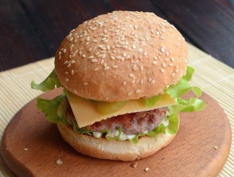 Как приготовить бургер