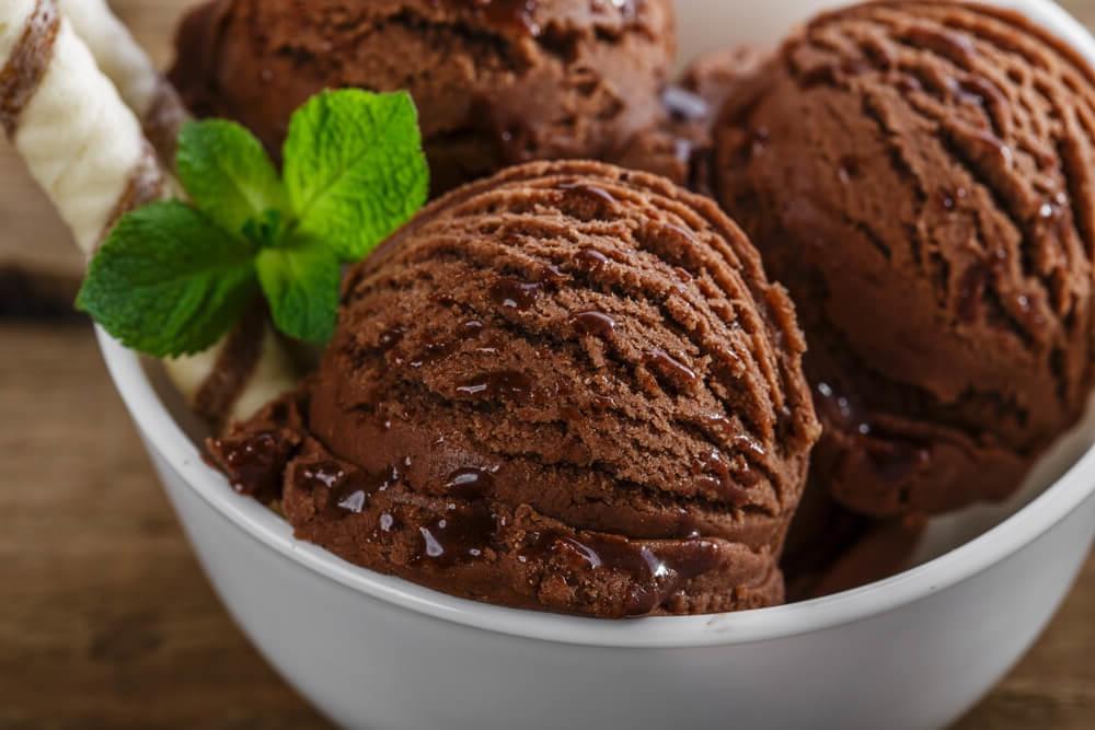 Рецепт шоколадного мороженного