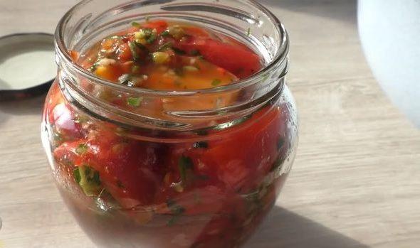 Рецепт помидоров по корейски