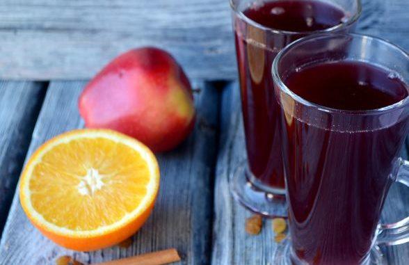 Рецепт приготовления Глинтвейн безалкогольный