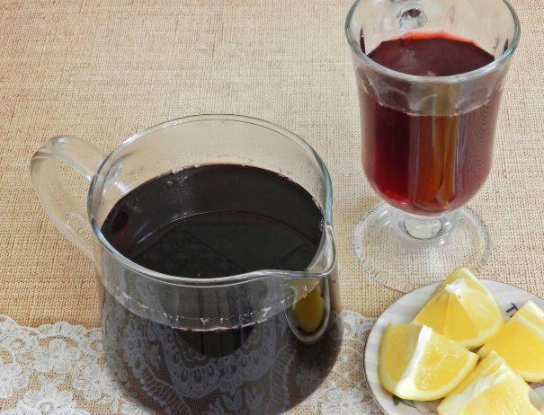Чайный напиток из каркаде