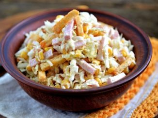 Рецепт салата с пекинской капустой вкусно
