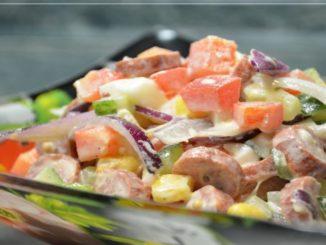 салат радуга рецепт +с фото пошагово