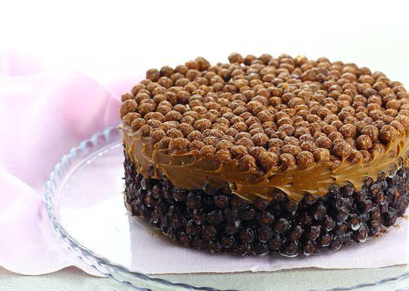 Торт из сухих завтраков