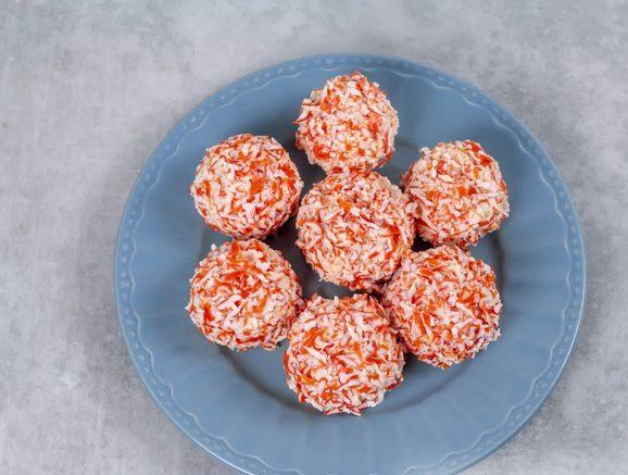 Закусочные крабовые шарики