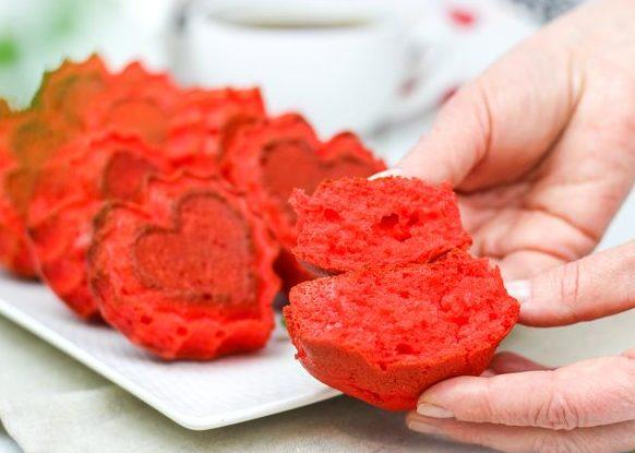 Кексы Красный бархат