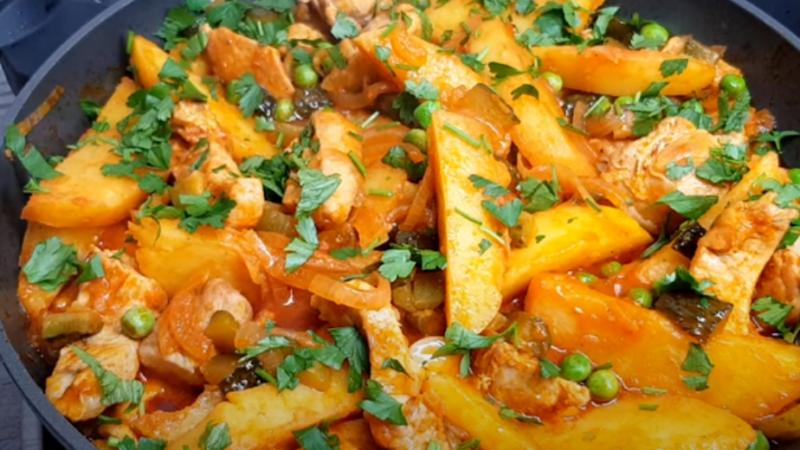 Прекрасное блюдо МУЖЧИНЫ в восторге, прекрасное РЕШЕНИЕ для обеда или ужина