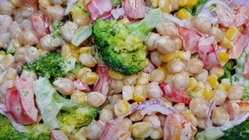 """Прекрасный салат """"КАКЕТКА""""с секретным ингредиентом."""