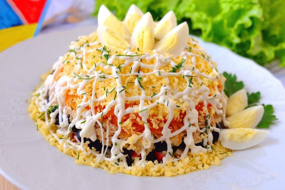 Топ 5 самых быстрых салатов